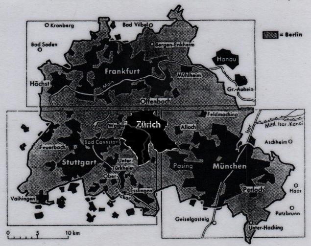 Berlin, Berlin Massstab, Grössenvergleich Berlin, Berlin groesste deutsche Stadt, Berlin gross