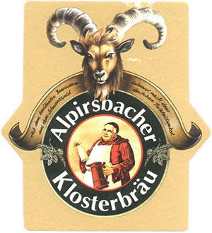 Bockbier, Alpirsbacher, Klosterbräu, Bier, Teufelszeug