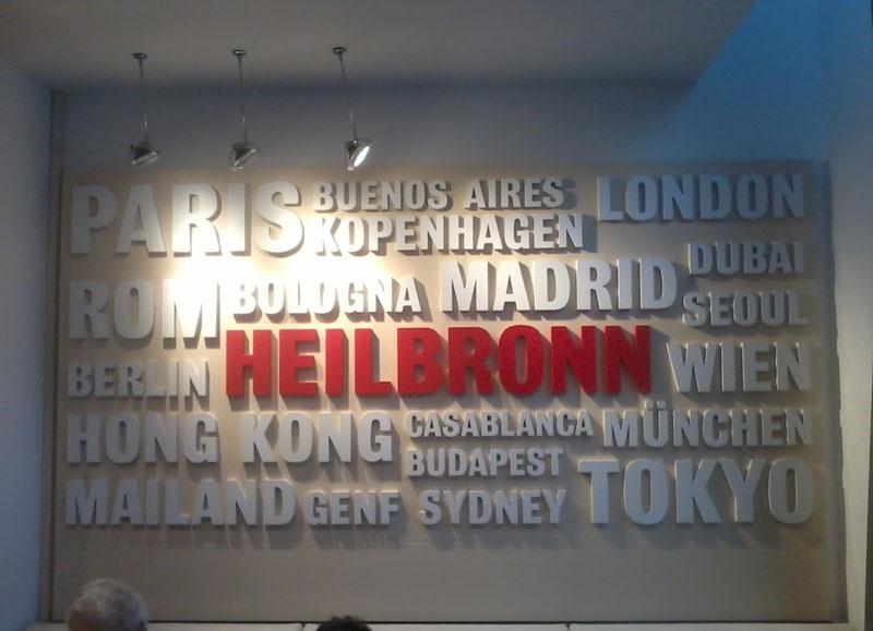 Heilbronn, Bologna, Internationalität, Weltstadt Heilbronn