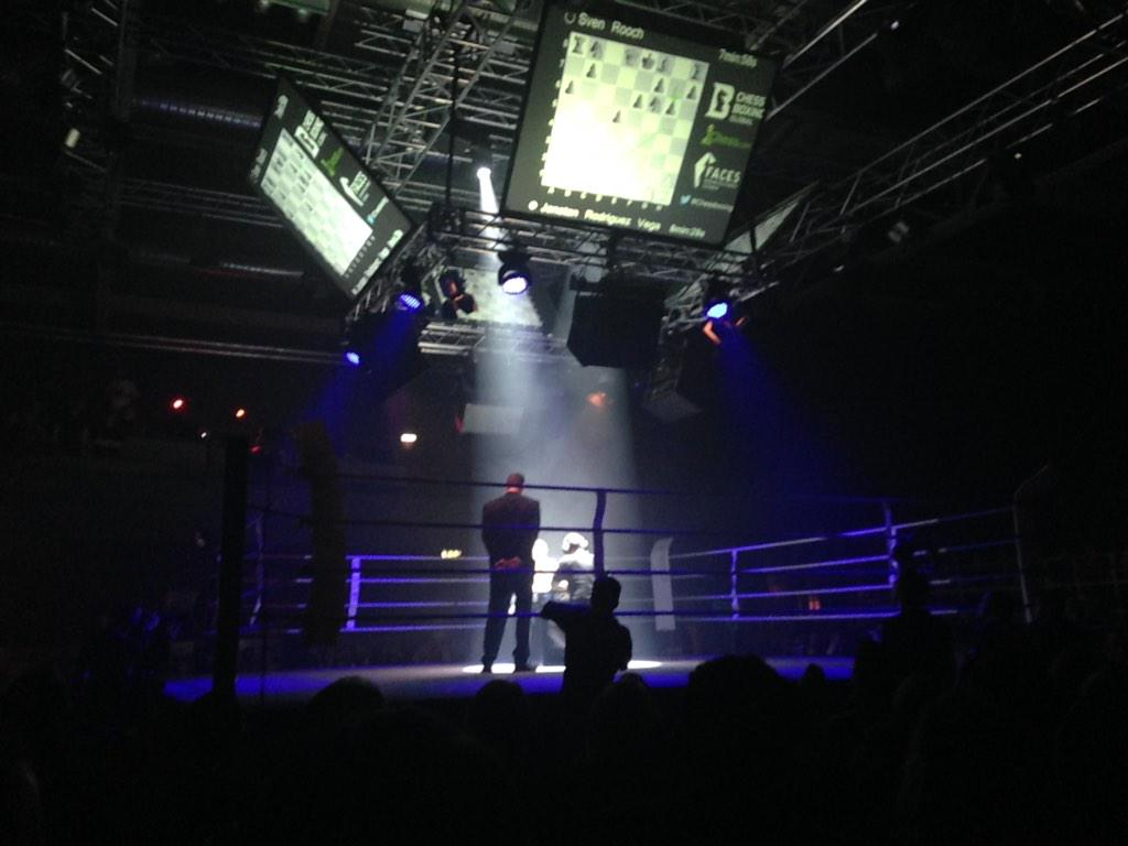 chessboxing, Schachboxen, Chessboxing live 2014