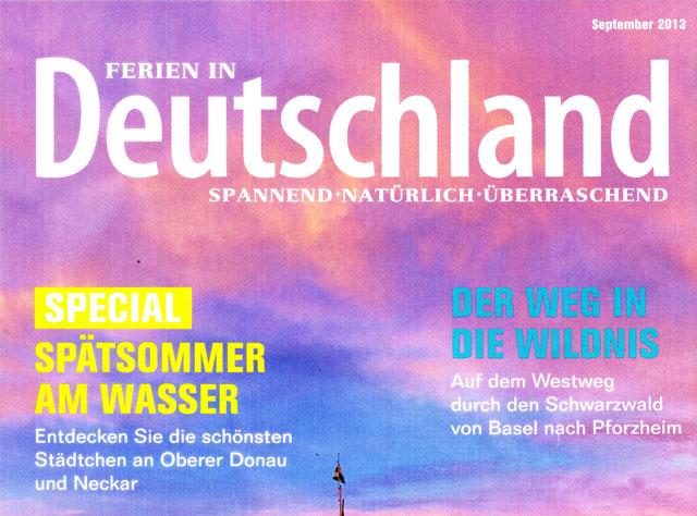 Ferien Deutschland, Urlaub in Deutschland, Urlaubsdestination Deutschland, Feriendestination Deutschland