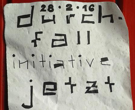 Durchfallinitiative, Schweiz Initiative 2016, Volksabstimmung 2016, DSI