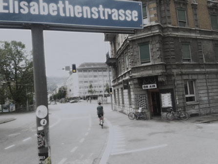 Elisaburg, Elisabethenstrasse, Elisaburg Zürich