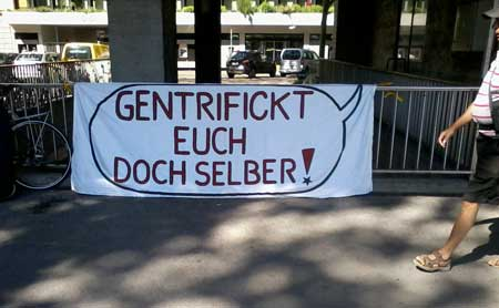 Gentrifizierung, Wem gehört Zürich, Gentrifizierung Zürich