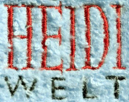 Heile Welt, Heidi Welt