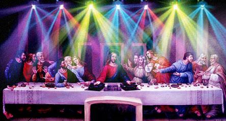 Abendmahl, Eucharistiefeier, DJ Jesus, Jesus Christ Superstar