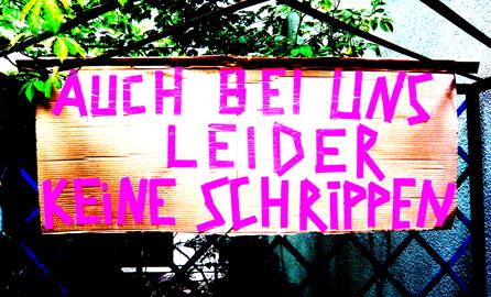 Schrippen, Hungersnot, keine Schrippen in Berlin