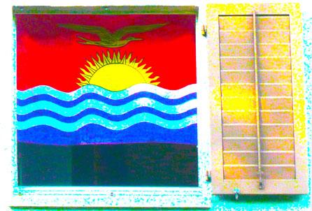 Kiribati, Flaggensammlung, Nationalflagge, Sintflut