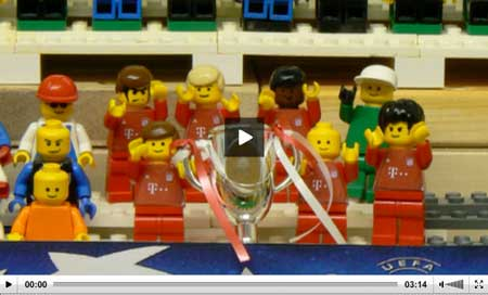 Legoland, Guardian brick by brick, Final  Championsleague 2013, Bayern Munich 2013, Kings of Europe 2013