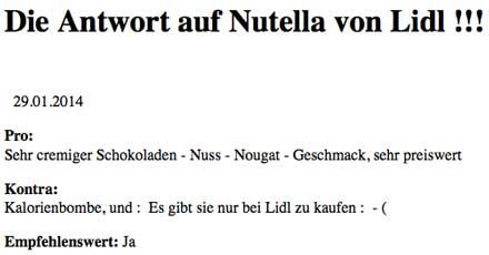 Nutellafluch
