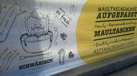 Maultasche, Schwäbische Maultasche, Teigtasche, Heilbronn, Freak Folk