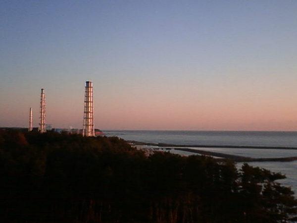 Sonnenaufgang an der atomaren Pazifikküste