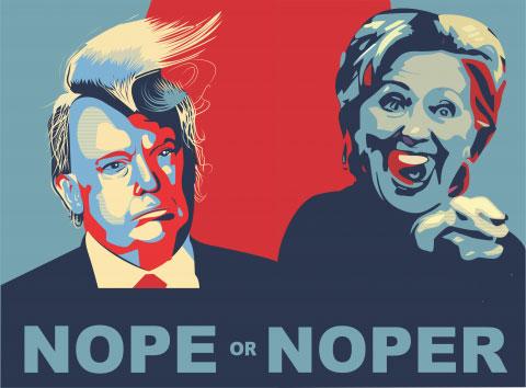 US 2016, US Election 2016, Hilary Trump