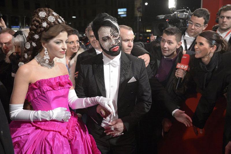 Vienna 2013, Opera Ball, Opera Ball at the Vienna State, Xenia Princess of Saxony Duches, Harald Gloeoeckler