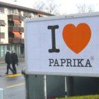Ein Herz aus Paprika
