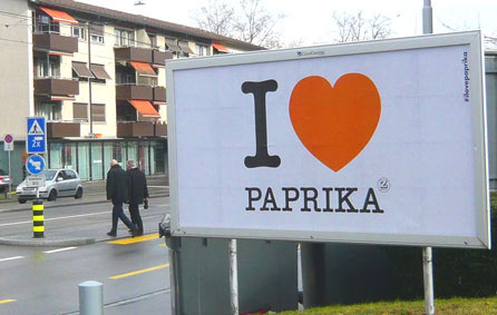 Herz aus Paprika, Zweifel Chips, Paprika Chips