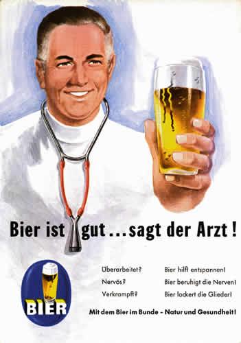 bier ist gut sagt der arzt, bier ist gut, mit dem bier im bunde