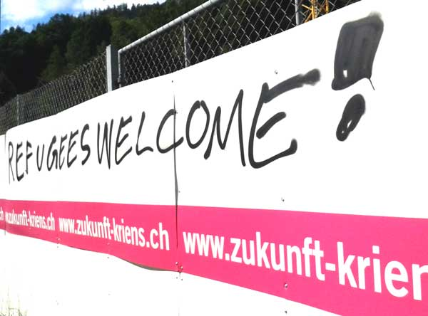 Refugees Welcome, Refugees Kriens, Welcome Kriens