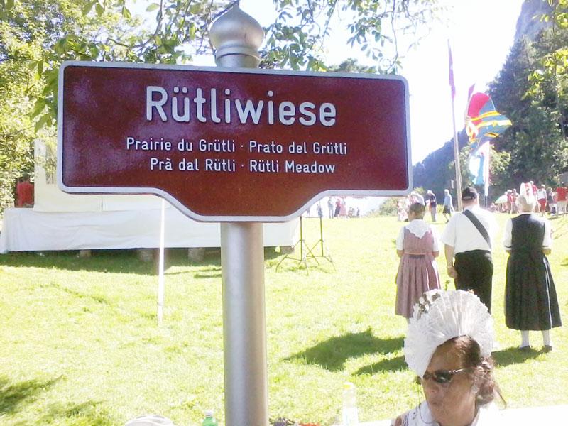 ruetliwiese, Ruetliwiese 2013, Ruetli, Ruetlischwur