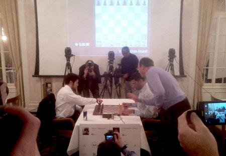 Zürich Chess Challenge, Zurich Chess Challenge 2015, Schach, Baur en Ville Zürich, Nakamura, Anand, Armagedon