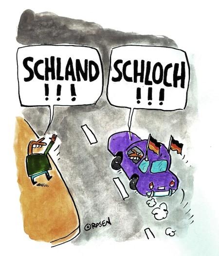 schland, schland cartoon, schland comic, rosen