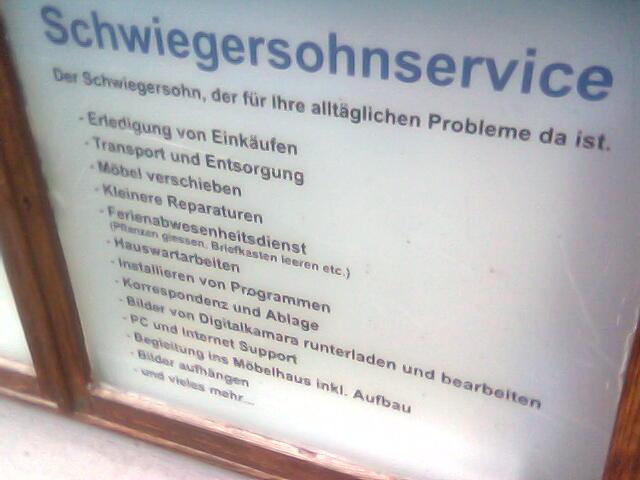schwiegerservice