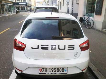 Seat, Jesus. Jünger, Christentum, Auto Tuning