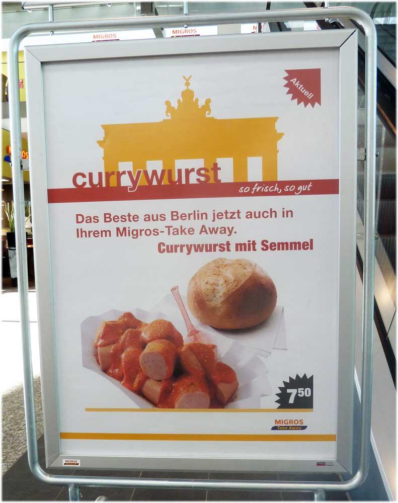Currywurst, Ciurrywurst Schweiz, Berliner Currywurst, Currywurst Migros, Currywurst international