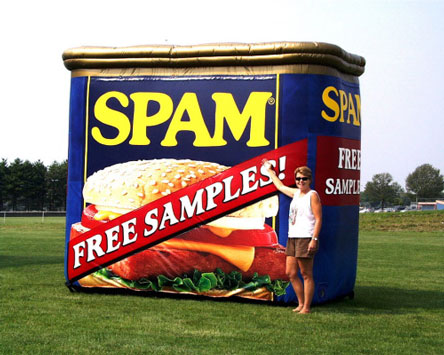 Spam, Spam Can, Spam Free Sample, More Spam
