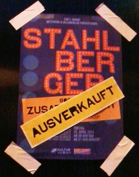 Stahlberger, Stahlberger Konzert, Stahlberger Tour Zürich,