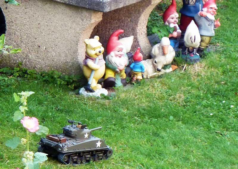 Spielzeugpanzer, ferngesteuerter Panzer