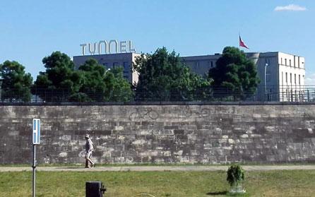Tunnel, Botschaft Berlin