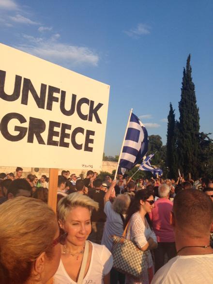unfuck greece, greece 2015, EU, Euro 2015