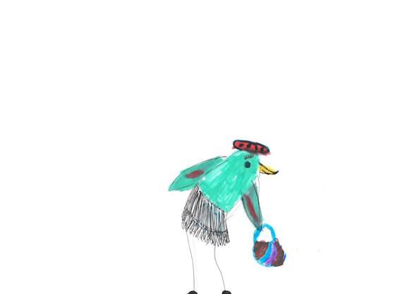 Vogelin, Vogeldame, Vogel