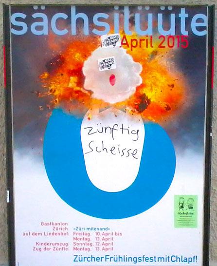 Sechserläuten 2015, Sechsilüüte, Zürcher Sechsilüüte, Sechserläuten Zürich 2015, Böögg